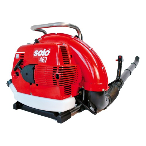 Backpack Air Blower, Solo 2-Stroke 66.5cc engine.