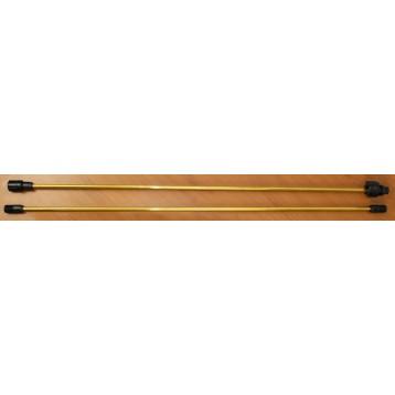 """60""""Brass Extension Wand (2 Pcs)"""