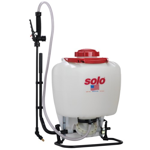 475-101 Backpack Sprayer, 4 Gallon, Diaphragm, w/Carry Handle