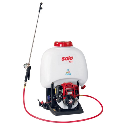 433 Backpack Sprayer, Honda 4-Stroke 25cc engine, 5 Gallon, Piston Pump