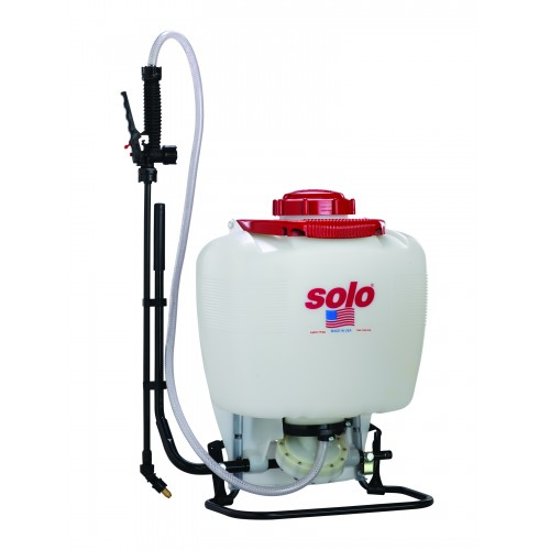 Backpack Sprayer, 4 Gallon, Diaphragm, Deluxe - Bleach Resistant