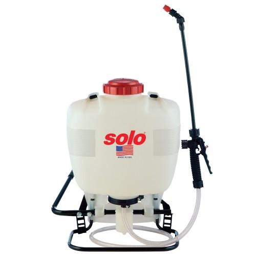 Backpack Sprayer, 4 Gallon, Piston
