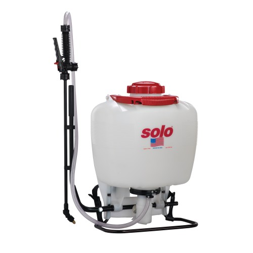 Backpack Sprayer, 4 Gallon, Piston, Deluxe