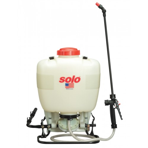 Backpack Sprayer, 4 Gallon, Diaphragm - Bleach Resistant