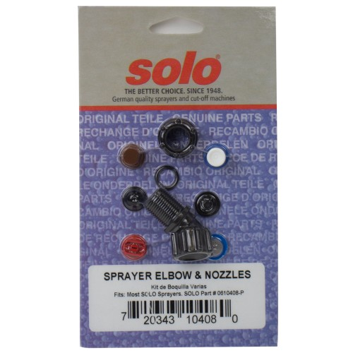Sprayer Elbow & Nozzle Assortment
