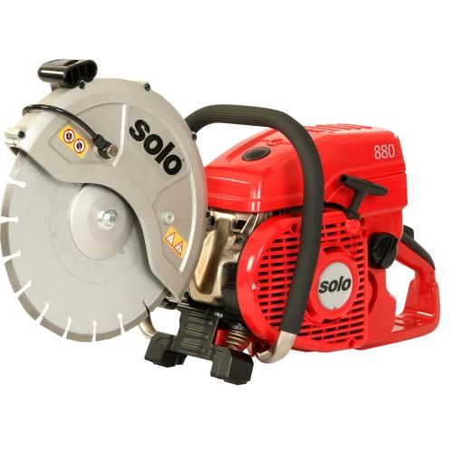 """Cut-off Saw, Solo 2-Stroke 81cc engine, for 12"""" cutting wheel"""