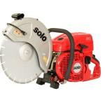 """Cut-off Saw, Solo 2-Stroke 81cc engine, for 14"""" cutting wheel"""