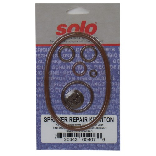 Pump Repair Kit, (Viton - 454-HD, 456-HD, 457-HD, 456-F, 407-CI)