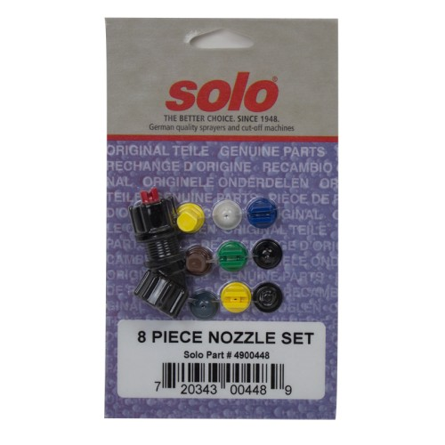 8 Piece Nozzle Set