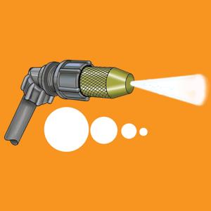 Brass adjustable nozzle