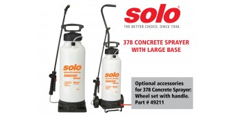 Solo's 378 Concrete Sprayer Replaces the 407-CI with Features to Improve Stability and Durability