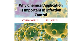 Why Chemical Application is Important in Infection Control