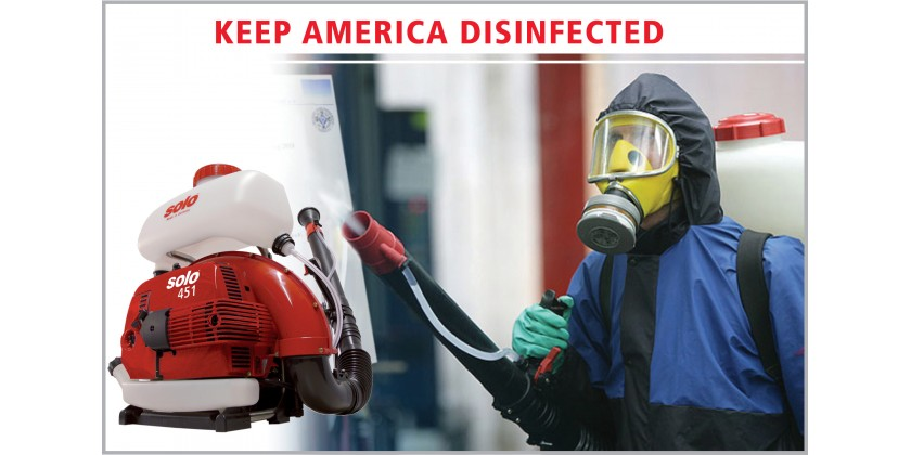 Protect Essential Employees Through Outdoor Disinfection