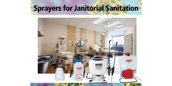 Sprayers for Janitorial Sanitation