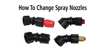 How to Change Spray Nozzles