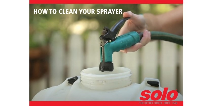How to Clean Your Sprayer