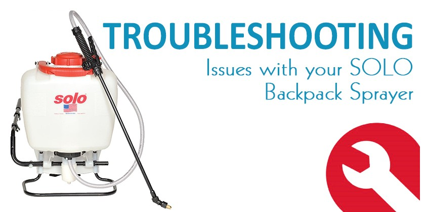 Troubleshooting Performance Issues with your Solo Backpack Sprayer
