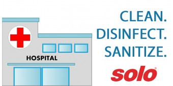 Clean, Disinfect, and Sanitize Hospitals Faster | Infographic