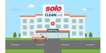 Get Ahead of Germs with Solo CLEANLine in Hospital Environment