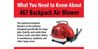 467 Backpack Air Blower