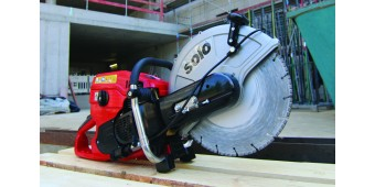 Solo 880 and 881 Concrete Saws