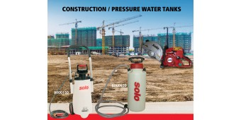 Solo Inc. Is Presenting Pressure Water Tanks at the 2019 World of Concrete