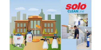 Solo CLEANLine Sprayers Help Prevent Infections and Provide Cleaner and Healthier Environment at School