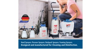 Three Reasons to Choose SOLO CLEANLine Sprayers for Mold Remediation