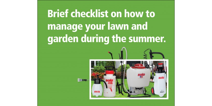 Summer Lawn & Garden Maintenance