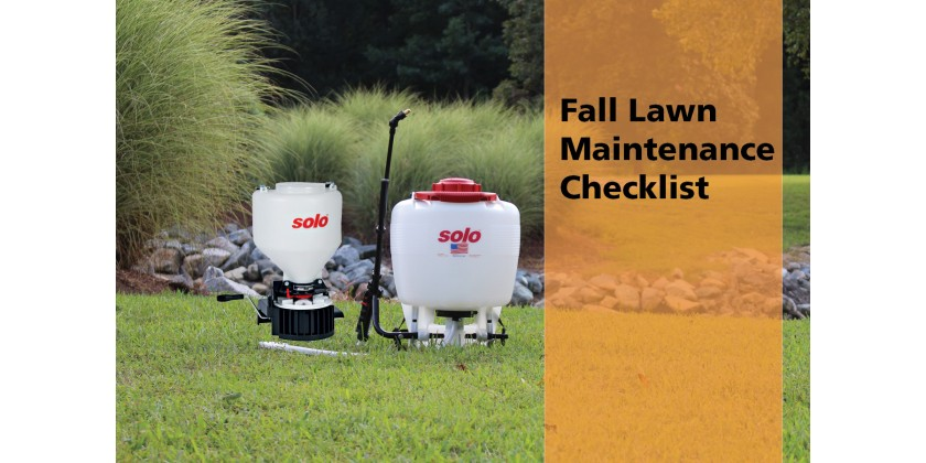 Fall Lawn Maintenance Checklist
