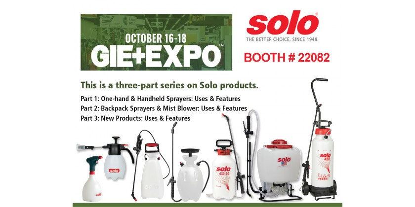 Solo Will Attend the 2019 GIE + EXPO