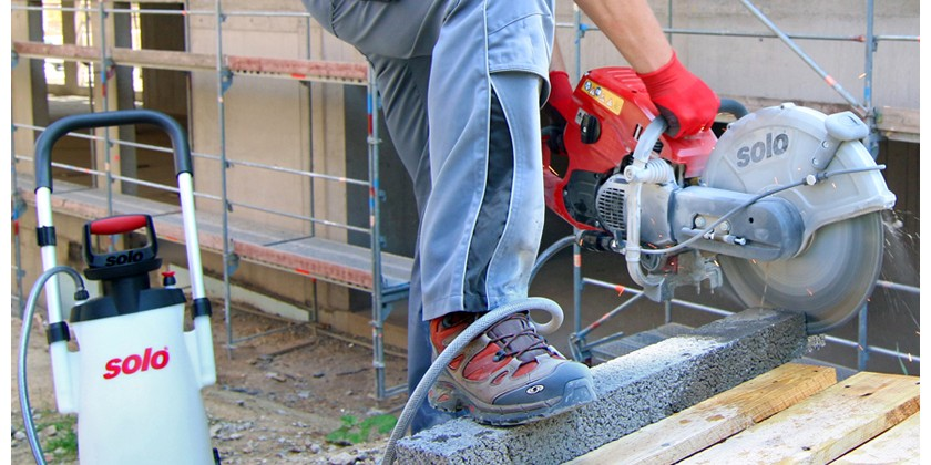 Reducing Silica Exposure When Operating Masonry Cut-off Saws