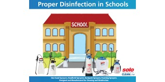 Controlling the Flu in Schools with Proper Disinfection